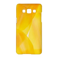 Yellow Pattern Painting Samsung Galaxy A5 Hardshell Case  by Amaryn4rt