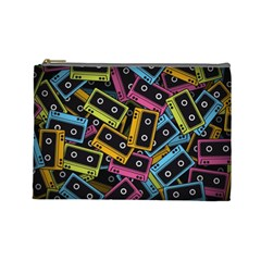 Type Pattern Cosmetic Bag (large)  by Amaryn4rt