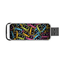 Type Pattern Portable Usb Flash (one Side) by Amaryn4rt