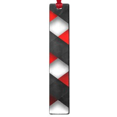 Red Textured Large Book Marks by Amaryn4rt
