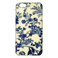 Vintage Blue Drawings On Fabric Iphone 6 Plus/6s Plus Tpu Case by Amaryn4rt