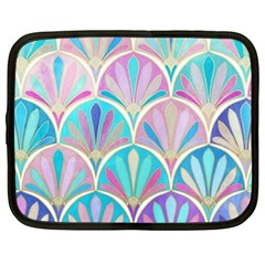 Beautiful Blue Sea Shell Netbook Case (xxl)  by Brittlevirginclothing