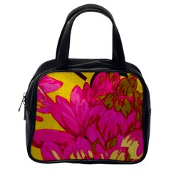 Beautiful Pink Flowers Classic Handbags (one Side) by Brittlevirginclothing