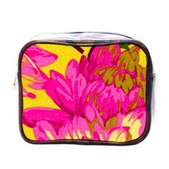 Beautiful Pink Flowers Mini Toiletries Bags by Brittlevirginclothing