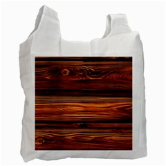 Old Wood Recycle Bag (two Side)  by Brittlevirginclothing