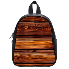 Old Wood School Bags (small)  by Brittlevirginclothing
