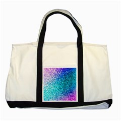 Rainbow Sparkles Two Tone Tote Bag by Brittlevirginclothing