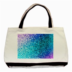 Rainbow Sparkles Basic Tote Bag (two Sides) by Brittlevirginclothing