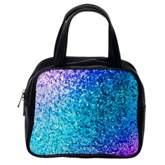 Rainbow Sparkles Classic Handbags (one Side) by Brittlevirginclothing
