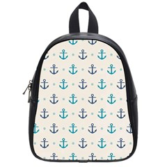 Sailor Anchor School Bags (small)  by Brittlevirginclothing