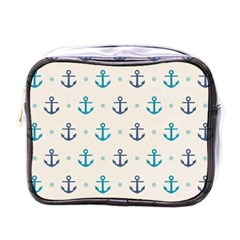 Sailor Anchor Mini Toiletries Bags by Brittlevirginclothing