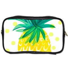 Cute Pineapple Toiletries Bags by Brittlevirginclothing