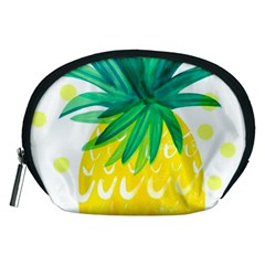 Cute Pineapple Accessory Pouches (medium)  by Brittlevirginclothing