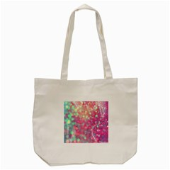 Fantasy Sparkle Tote Bag (cream) by Brittlevirginclothing