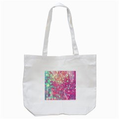 Fantasy Sparkle Tote Bag (white) by Brittlevirginclothing