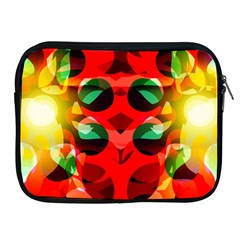 Abstract Digital Design Apple Ipad 2/3/4 Zipper Cases