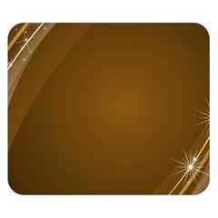 Abstract Background Double Sided Flano Blanket (small)