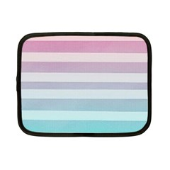 Colorful Horizontal Lines Netbook Case (small)  by Brittlevirginclothing