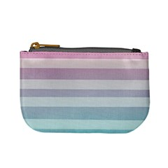 Colorful Horizontal Lines Mini Coin Purses by Brittlevirginclothing