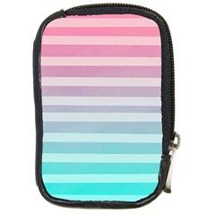 Colorful Horizontal Lines Compact Camera Cases by Brittlevirginclothing