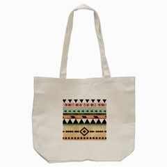 Colorful Bohemian Tote Bag (cream) by Brittlevirginclothing