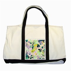 Paint Two Tone Tote Bag by Brittlevirginclothing