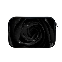 Black Rose Apple Macbook Pro 13  Zipper Case by Brittlevirginclothing