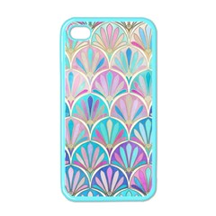 Colorful Sea Shell Apple Iphone 4 Case (color) by Brittlevirginclothing