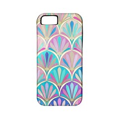 Colorful Sea Shell Apple Iphone 5 Classic Hardshell Case (pc+silicone) by Brittlevirginclothing