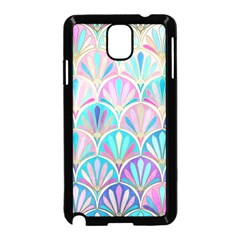 Colorful Sea Shell Samsung Galaxy Note 3 Neo Hardshell Case (black) by Brittlevirginclothing