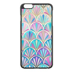 Colorful Sea Shell Apple Iphone 6 Plus/6s Plus Black Enamel Case by Brittlevirginclothing