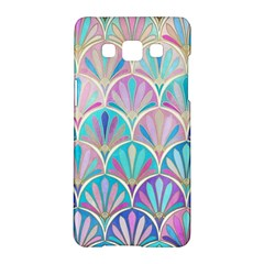Colorful Sea Shell Samsung Galaxy A5 Hardshell Case  by Brittlevirginclothing