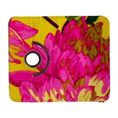 Colorful Pink Flower Galaxy S3 (flip/folio) by Brittlevirginclothing