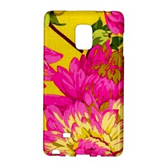 Colorful Pink Flower Galaxy Note Edge by Brittlevirginclothing