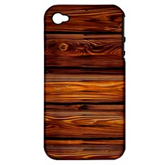 Wood Apple Iphone 4/4s Hardshell Case (pc+silicone) by Brittlevirginclothing