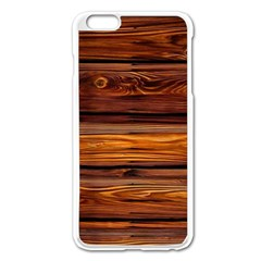 Wood Apple Iphone 6 Plus/6s Plus Enamel White Case by Brittlevirginclothing