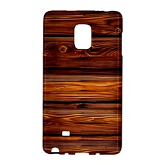 Wood Galaxy Note Edge by Brittlevirginclothing