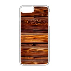 Wood Apple Iphone 7 Plus White Seamless Case by Brittlevirginclothing