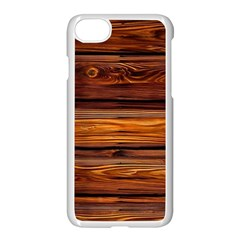 Wood Apple Iphone 7 Seamless Case (white) by Brittlevirginclothing