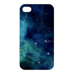 Space Apple Iphone 4/4s Premium Hardshell Case by Brittlevirginclothing