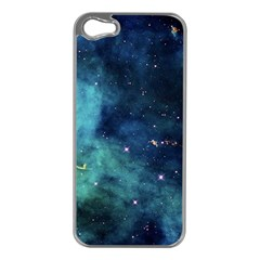 Space Apple Iphone 5 Case (silver) by Brittlevirginclothing