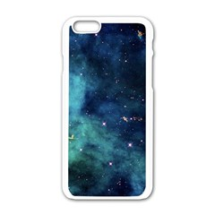 Space Apple Iphone 6/6s White Enamel Case by Brittlevirginclothing
