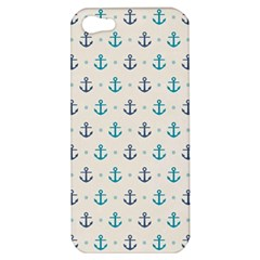 Sailor Anchor Apple Iphone 5 Hardshell Case by Brittlevirginclothing