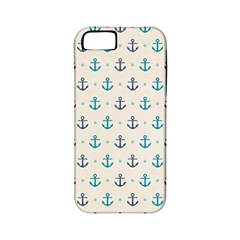 Sailor Anchor Apple Iphone 5 Classic Hardshell Case (pc+silicone) by Brittlevirginclothing