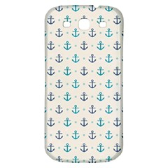 Sailor Anchor Samsung Galaxy S3 S Iii Classic Hardshell Back Case by Brittlevirginclothing