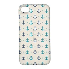 Sailor Anchor Apple Iphone 4/4s Hardshell Case With Stand by Brittlevirginclothing