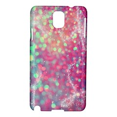 Rainbow Sparles Samsung Galaxy Note 3 N9005 Hardshell Case by Brittlevirginclothing