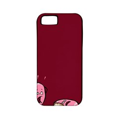 Funny Donut Apple Iphone 5 Classic Hardshell Case (pc+silicone) by Brittlevirginclothing