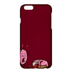 Funny Donut Apple Iphone 6 Plus/6s Plus Hardshell Case by Brittlevirginclothing