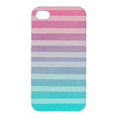 Colorful Vertical Lines Apple Iphone 4/4s Hardshell Case by Brittlevirginclothing